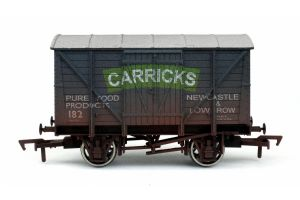 Dapol 4F-012-016 Carricks of Low Row 12T Ventilated Van, Weathered